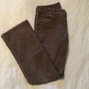 J.Crew Vintage Stretch Boot Cut Corduroy Jeans